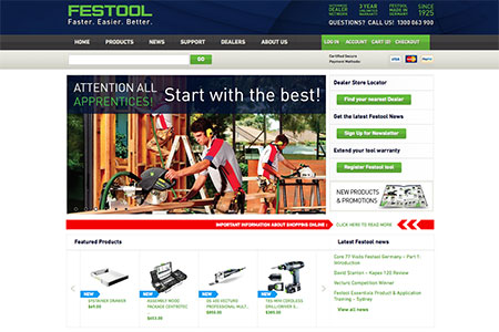 Festool Website