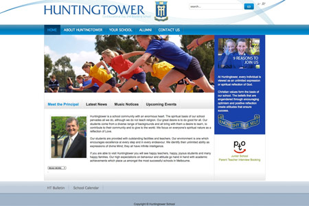 Huntingtower Website
