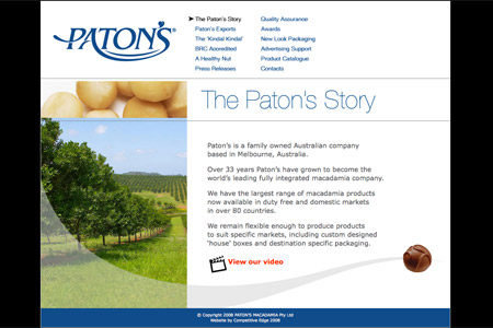 Patons Website
